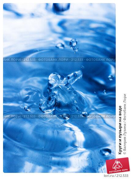 Круги и пузыри на воде, фото № 212533, снято 18 февраля 2008 г. (c) Валерия Потапова / Фотобанк Лори