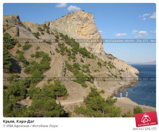 Купить «Крым, Кара-Даг», фото № 216177, снято 12 сентября 2006 г. (c) ИВА Афонская / Фотобанк Лори
