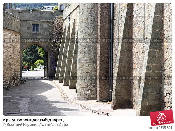 Крым. Воронцовский дворец, эксклюзивное фото № 335301, снято 29 апреля 2008 г. (c) Дмитрий Неумоин / Фотобанк Лори