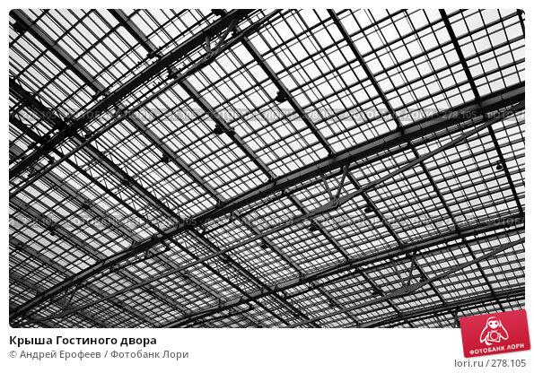 Купить «Крыша Гостиного двора», фото № 278105, снято 17 марта 2008 г. (c) Андрей Ерофеев / Фотобанк Лори
