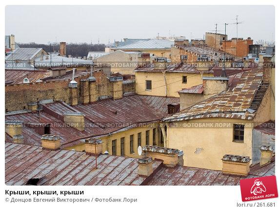 Крыши, крыши, крыши, фото № 261681, снято 17 апреля 2008 г. (c) Донцов Евгений Викторович / Фотобанк Лори