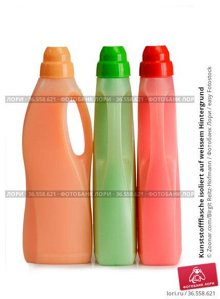 Kunststoffflasche isoliert auf weissem Hintergrund. Стоковое фото, фотограф Zoonar.com/Birgit Reitz-Hofmann / easy Fotostock / Фотобанк Лори
