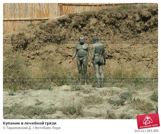 Купание в лечебной грязи, фото № 263365, снято 30 июля 2005 г. (c) Тарановский Д. / Фотобанк Лори