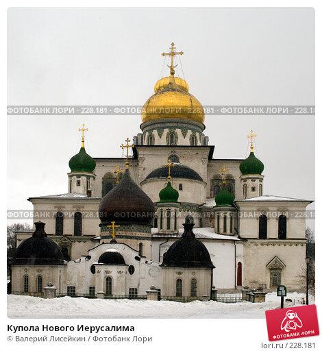 Купить «Купола Нового Иерусалима», фото № 228181, снято 24 февраля 2008 г. (c) Валерий Лисейкин / Фотобанк Лори
