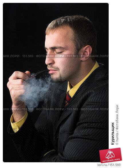 Купить «Курильщик», фото № 151593, снято 12 октября 2007 г. (c) hunta / Фотобанк Лори