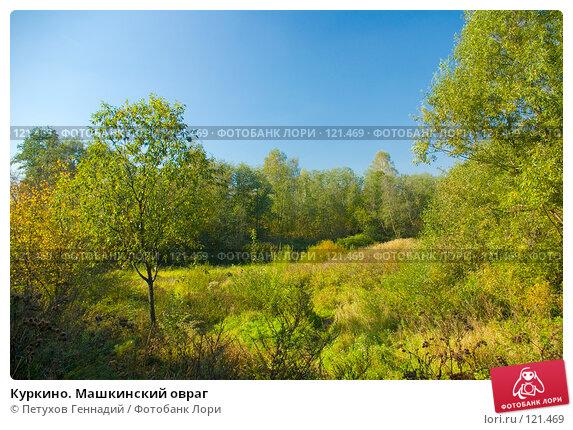 Куркино. Машкинский овраг, фото № 121469, снято 22 сентября 2007 г. (c) Петухов Геннадий / Фотобанк Лори