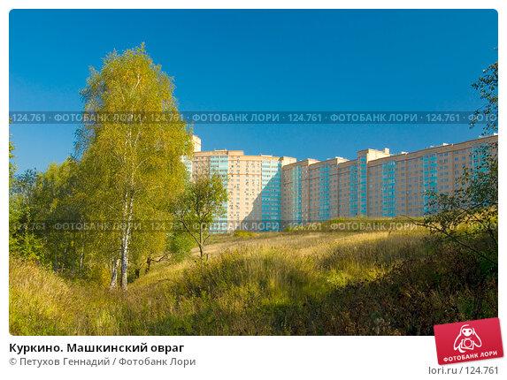 Куркино. Машкинский овраг, фото № 124761, снято 22 сентября 2007 г. (c) Петухов Геннадий / Фотобанк Лори