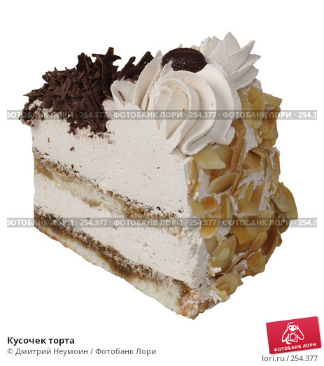 Купить «Кусочек торта», эксклюзивное фото № 254377, снято 8 июня 2006 г. (c) Дмитрий Неумоин / Фотобанк Лори