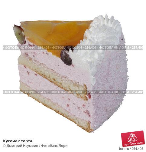 Кусочек торта, эксклюзивное фото № 254405, снято 8 июня 2006 г. (c) Дмитрий Неумоин / Фотобанк Лори