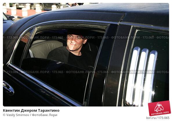 Квентин Джером Тарантино, фото № 173065, снято 16 июня 2004 г. (c) Vasily Smirnov / Фотобанк Лори