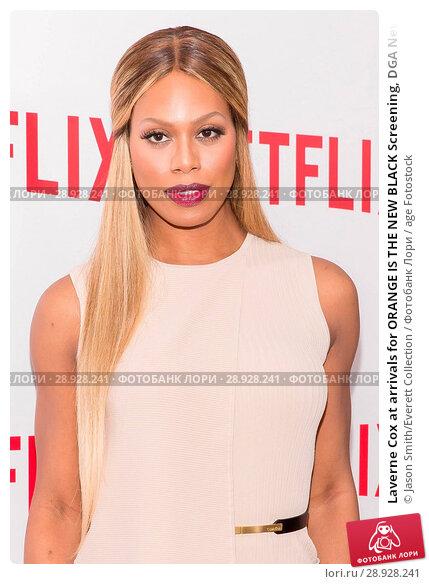 Купить «Laverne Cox at arrivals for ORANGE IS THE NEW BLACK Screening, DGA New York Theater, New York, NY August 11, 2015. Photo By: Jason Smith/Everett Collection», фото № 28928241, снято 11 августа 2015 г. (c) age Fotostock / Фотобанк Лори
