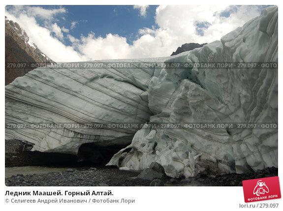 Ледник Маашей. Горный Алтай., фото № 279097, снято 13 июля 2006 г. (c) Селигеев Андрей Иванович / Фотобанк Лори