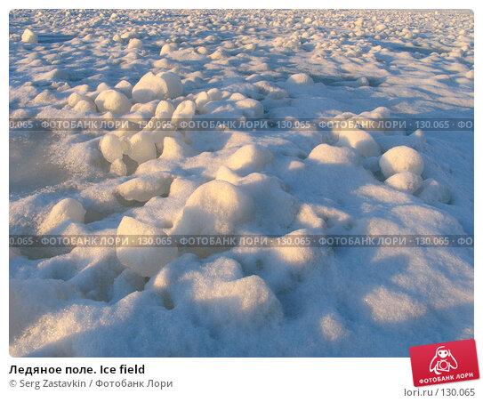 Ледяное поле. Ice field, фото № 130065, снято 29 ноября 2004 г. (c) Serg Zastavkin / Фотобанк Лори