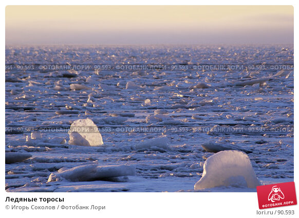 Ледяные торосы, фото № 90593, снято 21 февраля 2017 г. (c) Игорь Соколов / Фотобанк Лори