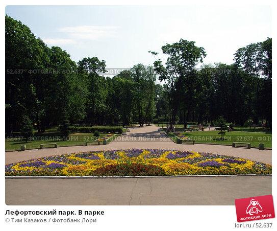 Купить «Лефортовский парк. В парке», фото № 52637, снято 14 июня 2007 г. (c) Тим Казаков / Фотобанк Лори