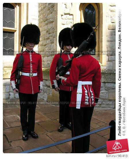Лейб-гвардейцы королевы. Смена караула. Лондон. Великобритания, фото № 90413, снято 29 сентября 2007 г. (c) Екатерина Овсянникова / Фотобанк Лори