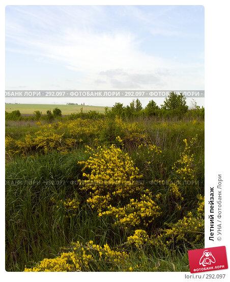 Купить «Летний пейзаж», фото № 292097, снято 17 мая 2008 г. (c) УНА / Фотобанк Лори