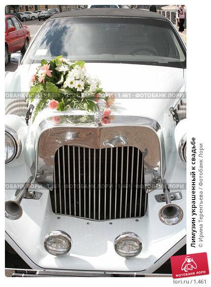 Лимузин украшенный к свадьбе, фото № 1461, снято 2 сентября 2005 г. (c) Ирина Терентьева / Фотобанк Лори