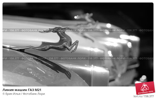 Линия машин ГАЗ М21, фото № 158377, снято 17 мая 2007 г. (c) Ерин Илья / Фотобанк Лори