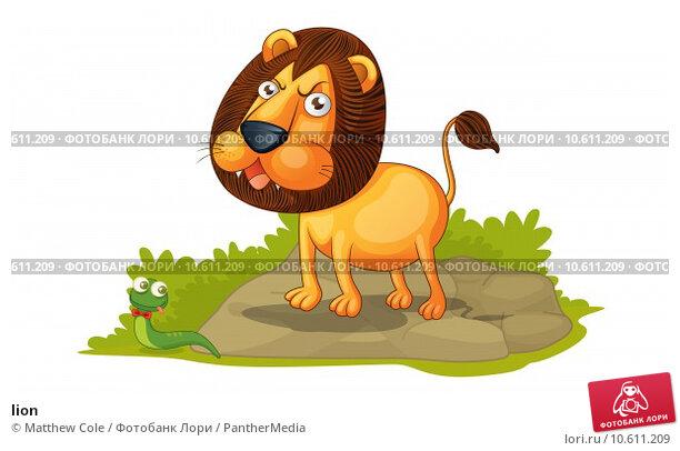 lion . Стоковая иллюстрация, иллюстратор Matthew Cole / PantherMedia / Фотобанк Лори