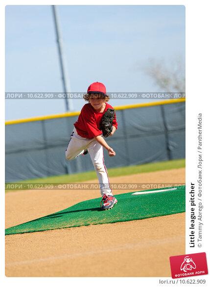 Little league pitcher. Стоковое фото, фотограф Tammy Abrego / PantherMedia / Фотобанк Лори