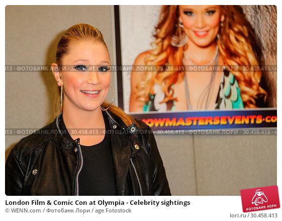 London Film & Comic Con at Olympia - Celebrity sightings (2017 год). Редакционное фото, фотограф WENN.com / age Fotostock / Фотобанк Лори