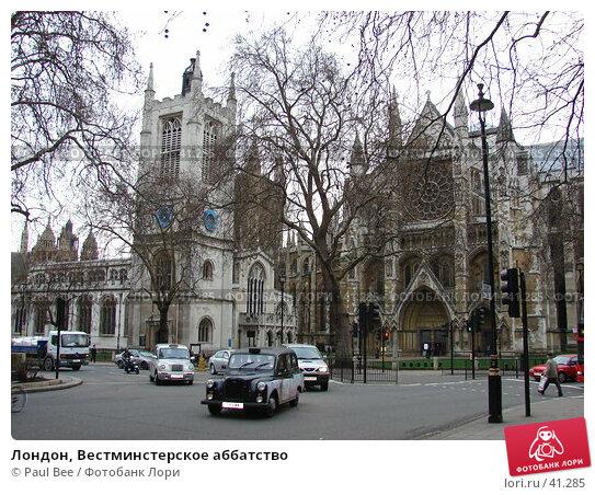 Купить «Лондон, Вестминстерское аббатство», фото № 41285, снято 30 апреля 2006 г. (c) Paul Bee / Фотобанк Лори