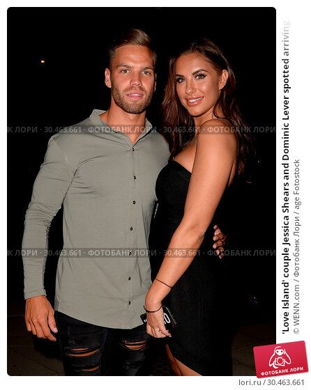 'Love Island' couple Jessica Shears and Dominic Lever spotted arriving... (2017 год). Редакционное фото, фотограф WENN.com / age Fotostock / Фотобанк Лори