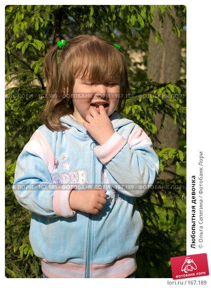 Любопытная девочка, фото № 167189, снято 23 мая 2007 г. (c) Ольга Сапегина / Фотобанк Лори