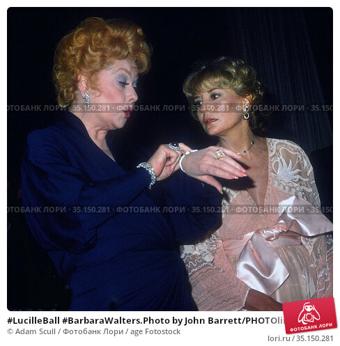 #LucilleBall #BarbaraWalters.Photo by John Barrett/PHOTOlink.net...... Редакционное фото, фотограф Adam Scull / age Fotostock / Фотобанк Лори