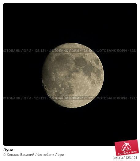 Луна, фото № 123121, снято 10 июня 2006 г. (c) Коваль Василий / Фотобанк Лори