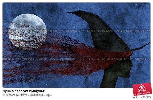 Луна в волосах колдуньи, фото № 83585, снято 18 января 2017 г. (c) Tamara Kulikova / Фотобанк Лори