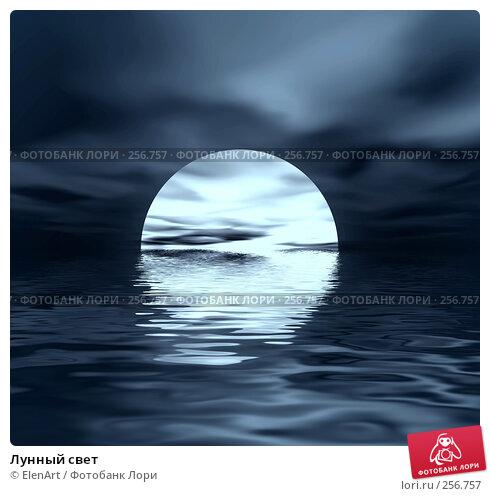 Купить «Лунный свет», иллюстрация № 256757 (c) ElenArt / Фотобанк Лори