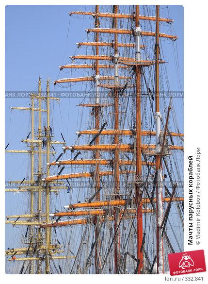 Купить «Мачты парусных кораблей», фото № 332841, снято 11 июня 2008 г. (c) Vladimir Kolobov / Фотобанк Лори