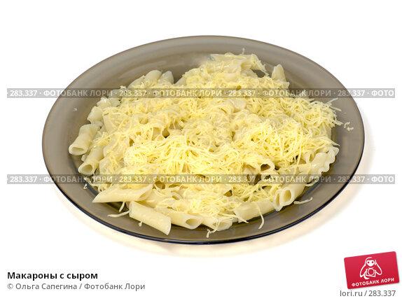 Макароны с сыром, фото № 283337, снято 28 марта 2008 г. (c) Ольга Сапегина / Фотобанк Лори