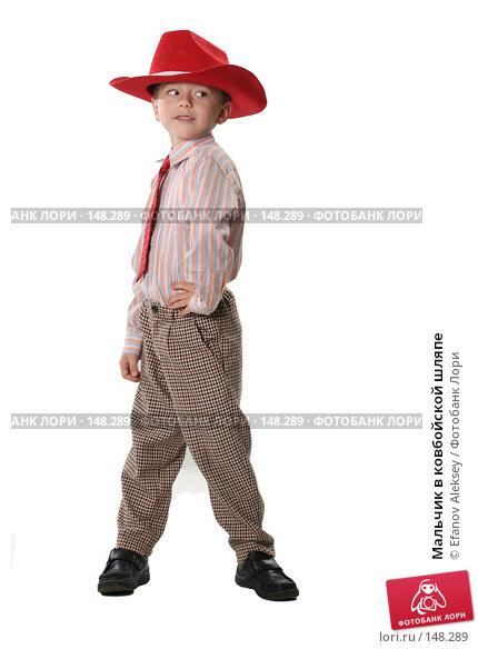 Мальчик в ковбойской шляпе, фото № 148289, снято 1 декабря 2007 г. (c) Efanov Aleksey / Фотобанк Лори