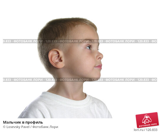 Мальчик в профиль, фото № 120833, снято 29 сентября 2005 г. (c) Losevsky Pavel / Фотобанк Лори