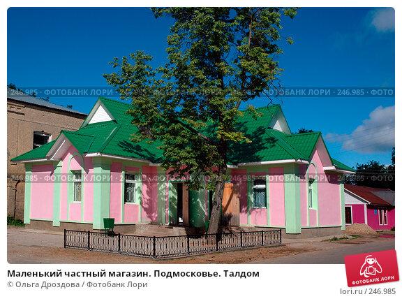 Маленький частный магазин. Подмосковье. Талдом, фото № 246985, снято 2 июня 2005 г. (c) Ольга Дроздова / Фотобанк Лори