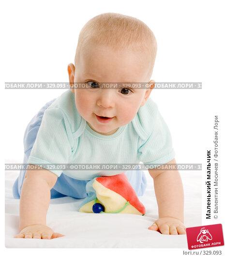 Маленький мальчик, фото № 329093, снято 8 мая 2007 г. (c) Валентин Мосичев / Фотобанк Лори
