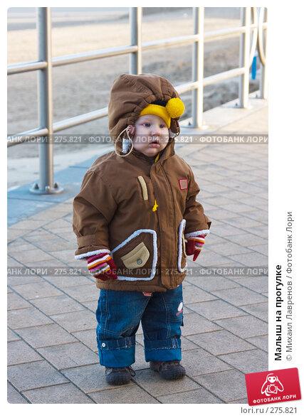 Купить «Малыш на прогулке», фото № 275821, снято 29 декабря 2007 г. (c) Михаил Лавренов / Фотобанк Лори