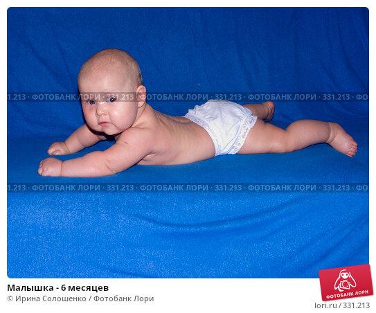 Купить «Малышка - 6 месяцев», фото № 331213, снято 6 декабря 2007 г. (c) Ирина Солошенко / Фотобанк Лори