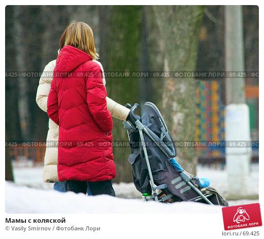 Мамы с коляской, фото № 69425, снято 12 марта 2007 г. (c) Vasily Smirnov / Фотобанк Лори