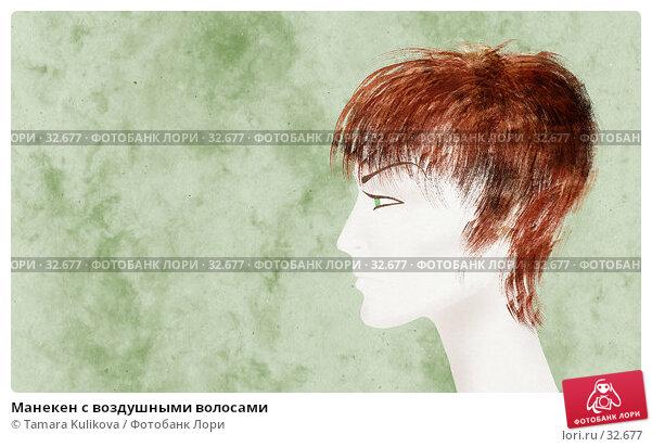 Манекен с воздушными волосами, иллюстрация № 32677 (c) Tamara Kulikova / Фотобанк Лори