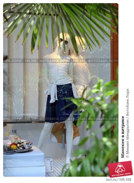 Манекен в витрине, фото № 195105, снято 6 января 2005 г. (c) Михаил Мандрыгин / Фотобанк Лори