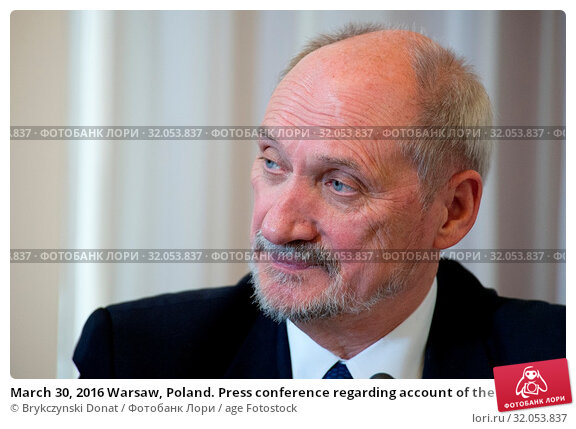 March 30, 2016 Warsaw, Poland. Press conference regarding account of the circumstances surrounding the Polish Air Force Tu-154 crash which killed President... Редакционное фото, фотограф Brykczynski Donat / age Fotostock / Фотобанк Лори
