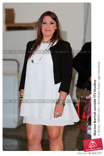 Marion Bartoli outside ITV Studios (2017 год). Редакционное фото, фотограф Rocky / WENN.com / age Fotostock / Фотобанк Лори