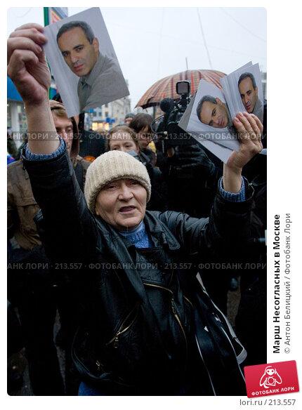 Марш Несогласных в Москве, фото № 213557, снято 3 марта 2008 г. (c) Антон Белицкий / Фотобанк Лори