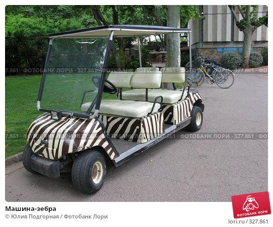 Машина-зебра, фото № 327861, снято 13 июня 2008 г. (c) Юлия Селезнева / Фотобанк Лори