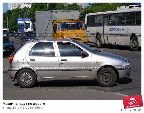 Машины едут по дороге, эксклюзивное фото № 331341, снято 11 июня 2008 г. (c) lana1501 / Фотобанк Лори
