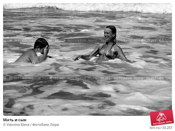 Мать и сын, фото № 33257, снято 28 августа 2006 г. (c) Vdovina Elena / Фотобанк Лори